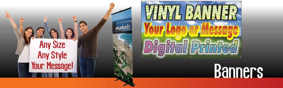 Promotional Products Banners Print Digintal Vinyl Banner