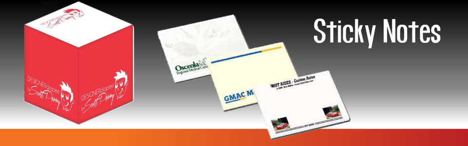 Custom Sticky Notes Print Products Promotional Products