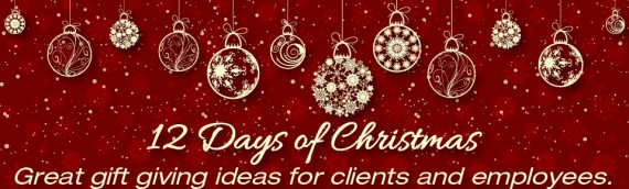 12 Days of Christmas… Here's a recap of the great gift ideas we have shared during  the 12 days of Christmas