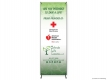 Colorado Life Lessons Save A Life (ROXS) Cross Banner Stand
