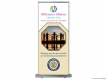 Difference Makers Optimist Club (RUBS) Roll Up Banner Stand