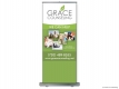 Grace Counseling (RUBS) Roll Up Banner Stand