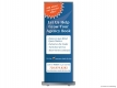 Insurance Leads Services (RUBS) Roll Up Banner Stand