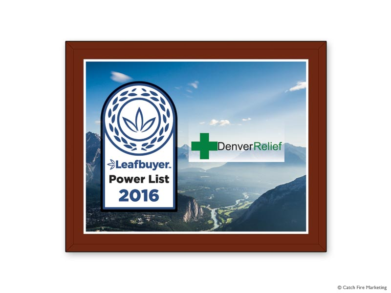 Leaf Buyer Power List Plaque