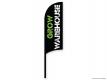 Grow Warehouse Razor Sail Flag