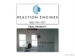 Reaction Engines Window Decal