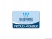 SMDC Proud Member Window Decal