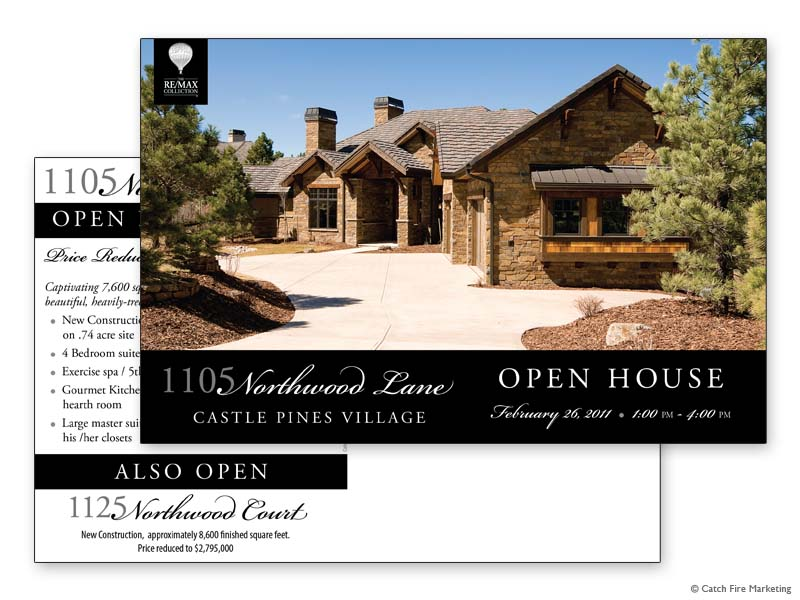 Robertson Open House Postcard