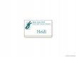 Just Family Dentistry Name Tag