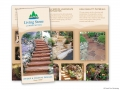 Living Stone Landscaping Tri-Fold Brochure