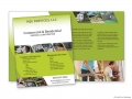 MJG Services Half-Fold Brochure