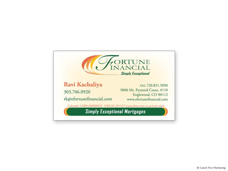 Other Business Cards - Catch Fire Marketing