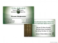 Colorado Vault & Safe Deposit Box Business Card (Frank Robinson)