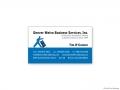 Denver Metro Business Services Business Card (Tim O'Connor)