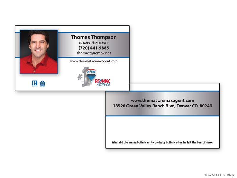 Real estate business cards remax altitude business card 1 thomas thompson colourmoves