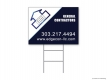 Edge Construction Colorado Yard Sign