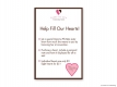 Gamma Phi Beta Foundation Heart Sign