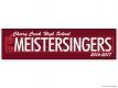 CCHS Meistersingers 2016 Sticker