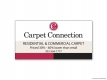 Carpet Connection Vinyl Banner