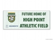 High Point Academy NFL Grassroots Vinyl Banner