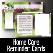 Home Care Reminders