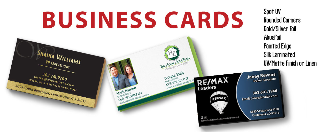 what does your business card say about you or your company - Business Cards Denver